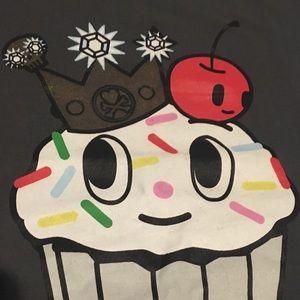Tokidoki Gray Cupcake T-shirt